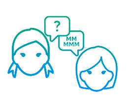 Sente como se as outras pessoas estivessem murmurando ou com dificuldades para falar