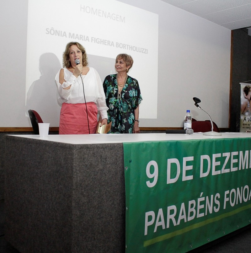 Homenagem a Dra. Fga. Sonia Bortholuzzi