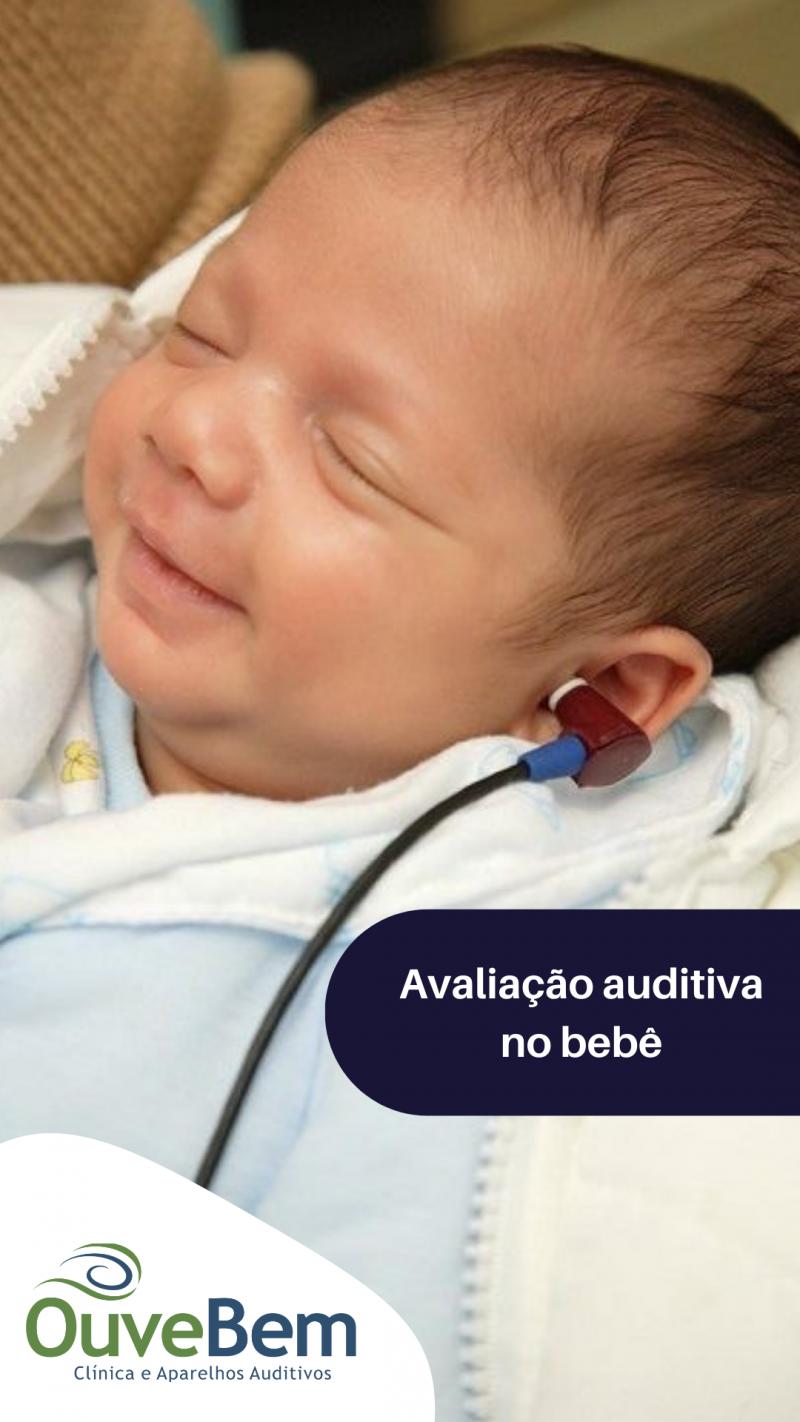 Avaliação auditiva no bebê: Porque devo realizar a triagem auditiva neonatal no meu filho