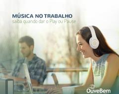 Música no trabalho: saiba quando dar Play ou Pause