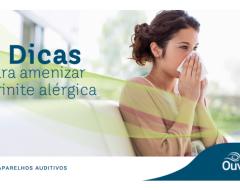 8 dicas para amenizar a rinite alérgica
