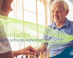 50 atividades para quem sofre de Alzheimer