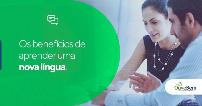 Os benefícios de aprender uma nova língua.