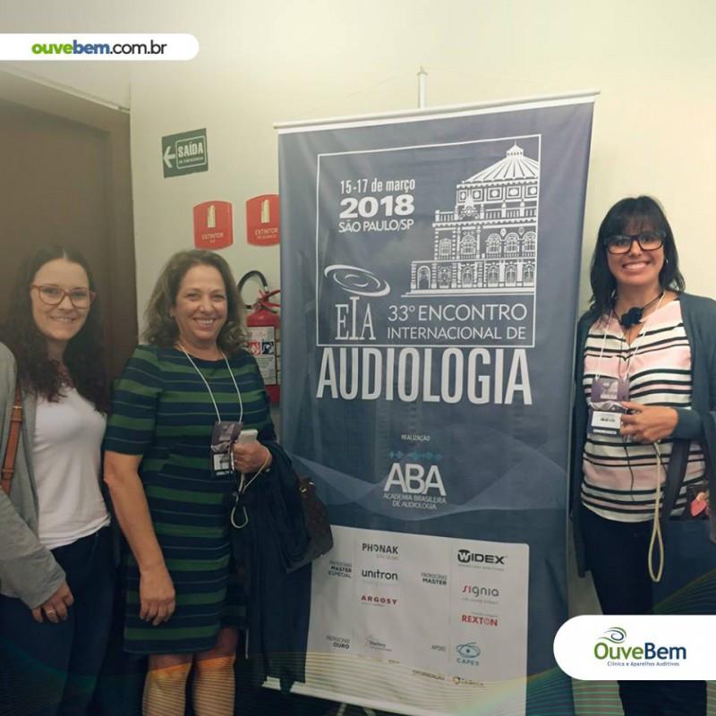 33º EIA- Encontro Internacional de Audiologia