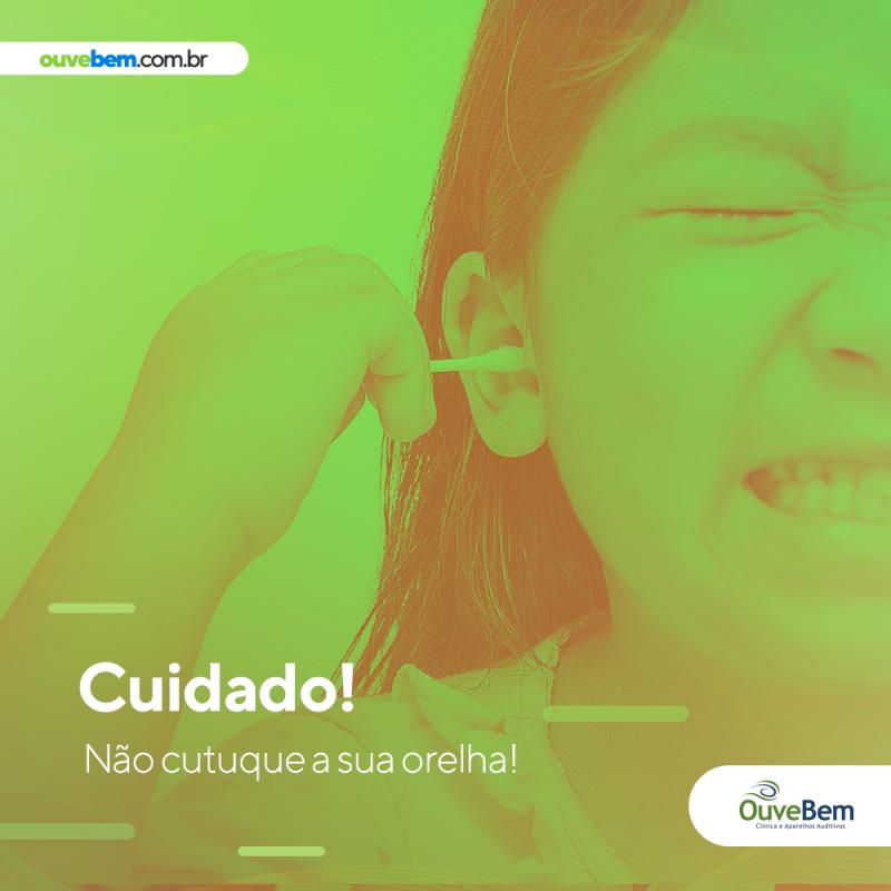 Cuidados importantes para a limpeza do ouvido