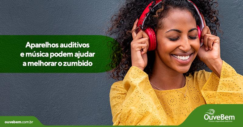 Aparelhos auditivos e música podem ajudar a melhorar o zumbido