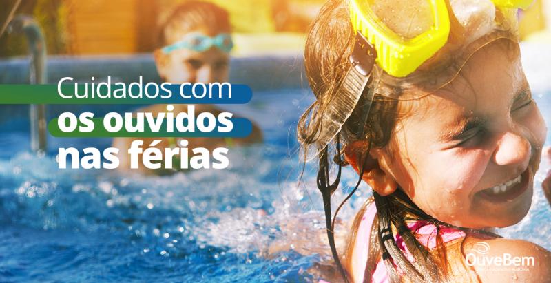 Dor de ouvido após a piscina? 4 dicas para evitar infecções
